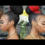 Natural Hair Tutorial | Sleek High Bun (Princess Bun) [Video]