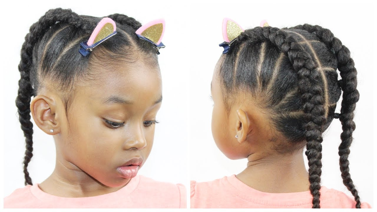 Braided Hair Styles For Little Girls: Hairstyles For Little Girls