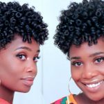 Spiral Curls on Tapered Natural Hair [Video]