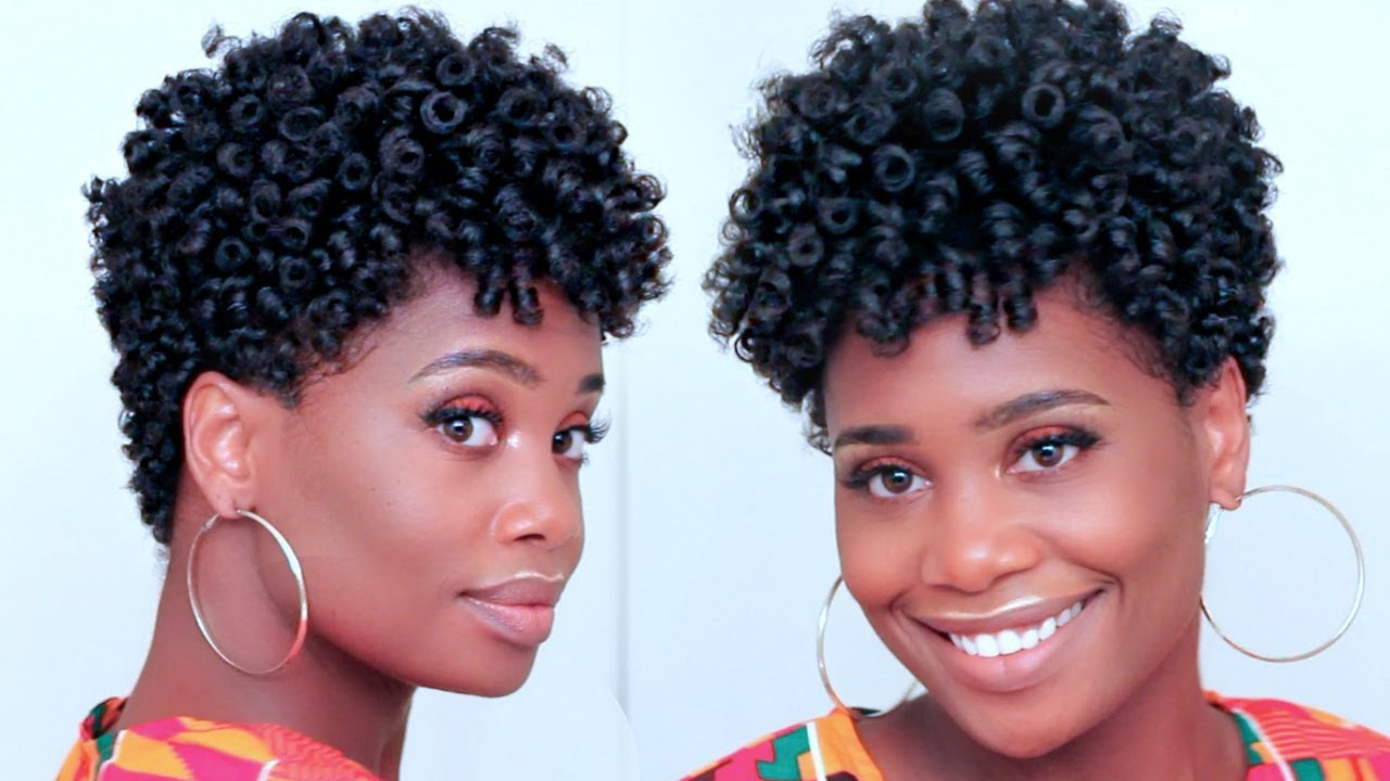 Black Hairstyles  Natural Spiral Curls