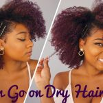 "Stretched ""Wash"" And Go on Dry Old Hair + Re-moisturize Natural Hair [Video]"