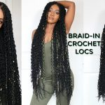 4 hr Braid-in Locs Tutorial | Super Long Doubled Crochet Locs | NEW! Faux Locs Method [Video]