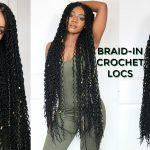 4 hr Braid-in Locs Tutorial   Super Long Doubled Crochet Locs   NEW! Faux Locs Method [Video]
