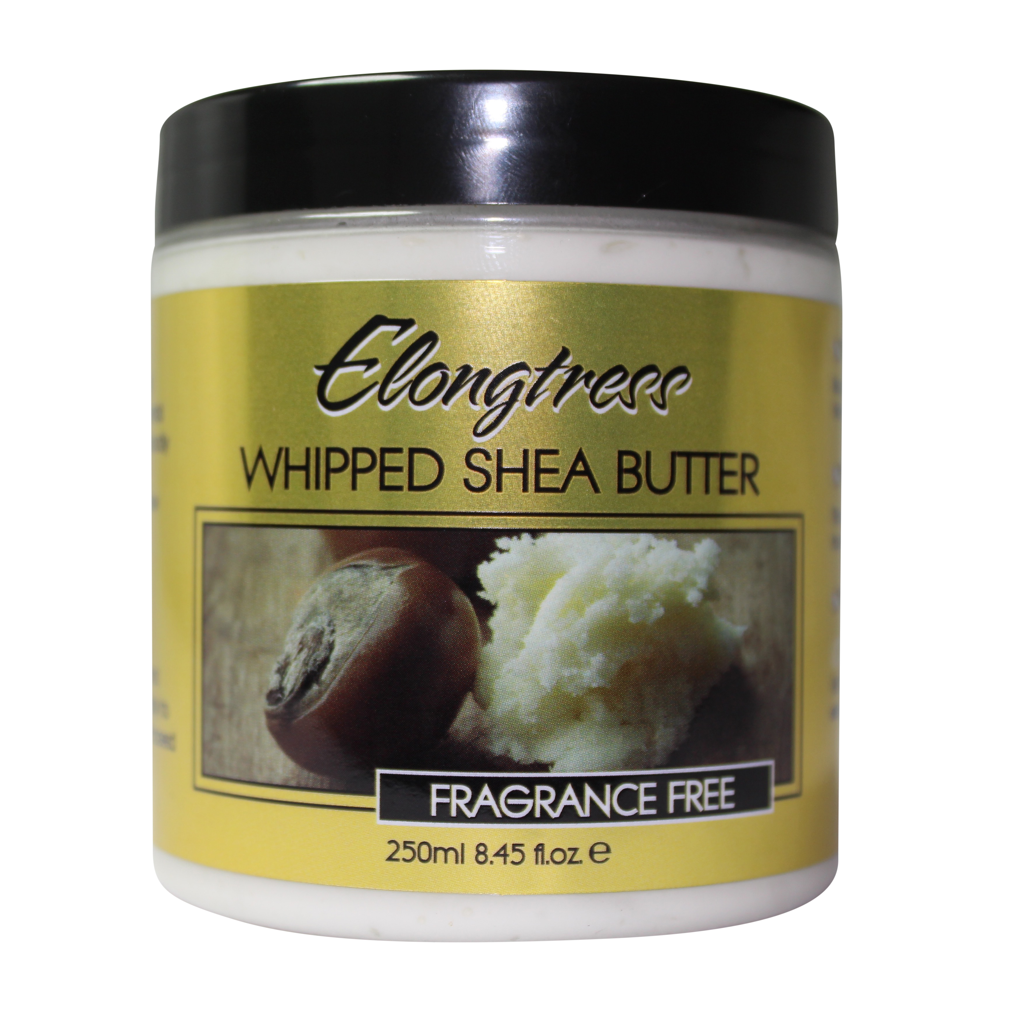 Whipped Shea Butter By Elongtress - Fragrance Free