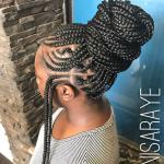 Nice braid work by @nisaraye