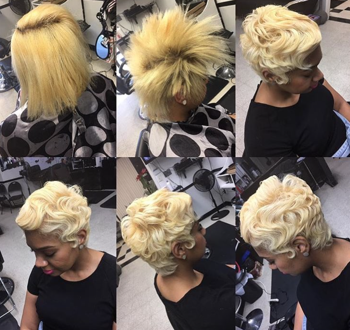 Gorgeous transformation by @rebel_stylist