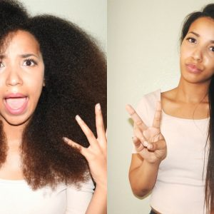 Straightening Your Natural Hair a Sign of Insecurity?