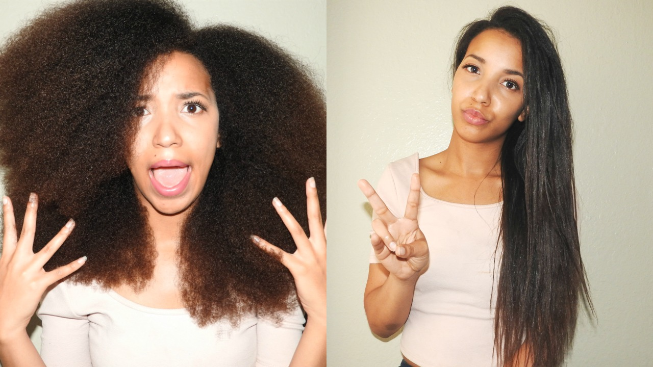 Straightening Your Natural Hair A Sign Of Insecurity