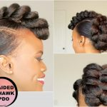 BRAIDED MOHAWK STYLE UPDO [NATURAL HAIR TUTORIAL]