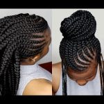 Crochet Braids Method On Cornrows Tutorial For Beginners