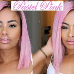 EASY Dyeing my Lace Wig PASTEL PINK ! (hair tutorial ft. WowAfrican) [Video]