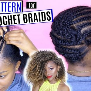 How to Braid Your Hair for Crochet Braids (DETAILED) | Braid Pattern Series [Video]