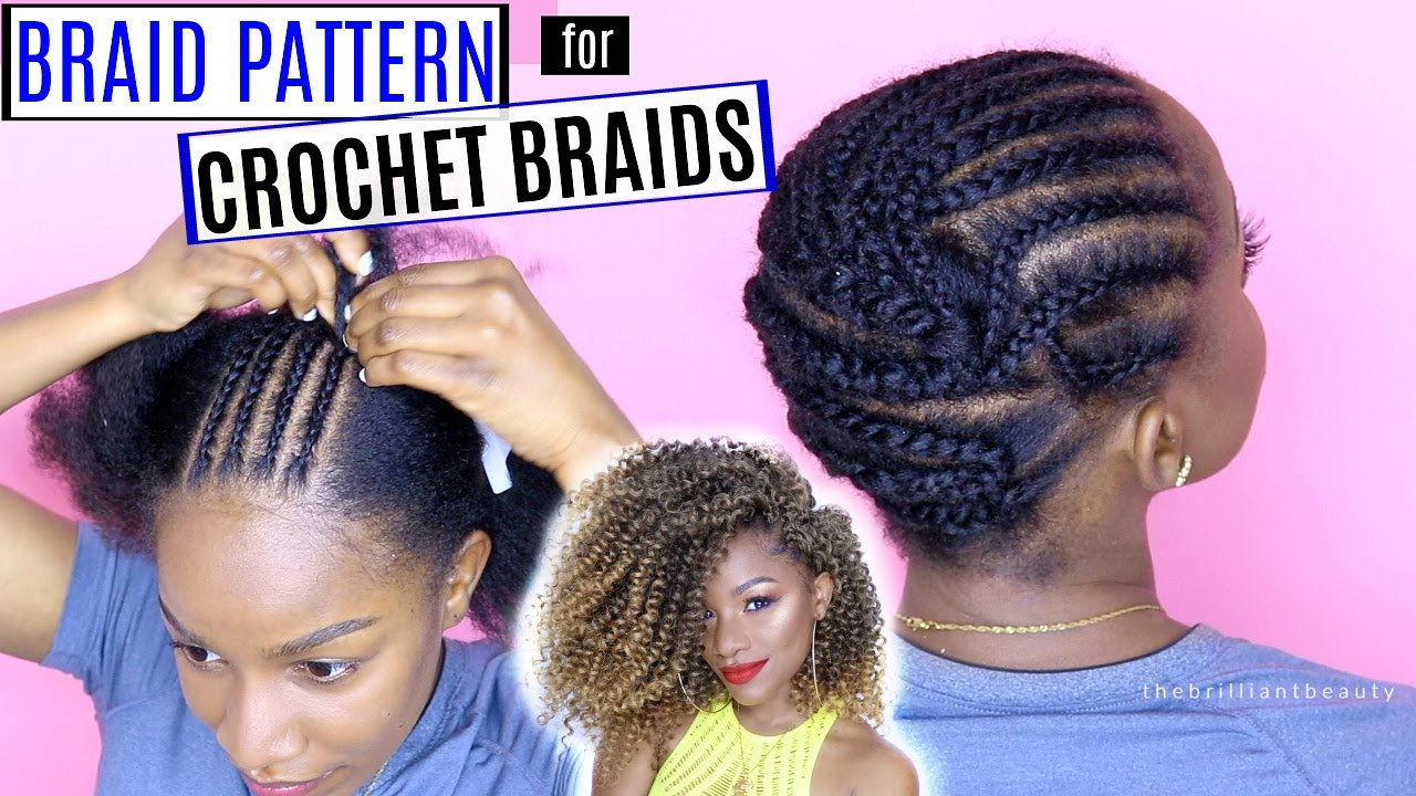 How To Braid Your Hair For Crochet Braids Detailed