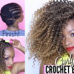 How-To: Curly Crochet Briads from Start to Finish! Under $20 [Video]