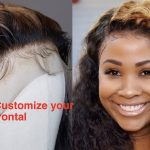 How to do baby hair| customize your lace frontal [Video]