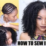 Natural Hair Sew-in Weave Start to Finish