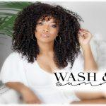 NATURAL HAIR SUMMER '17 WASH & GO [Video]