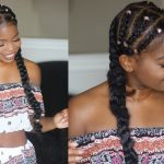 Quick and Easy Braid Protective style on natural hair FT. Mielle Organics [Video]