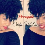 Quick & Easy Pineapple Curly Up-Do | Lazy Naturals Style Hack
