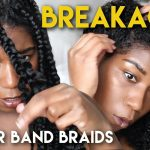 Removing Rubber Band Braids – BREAKAGE!?  [Video]