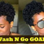 Super DEFINED Wash N Go on Type 4 Tapered Natural Hair – #1 [Video]