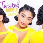 Twisted Double Buns – Curly Hairstyle  [Video]
