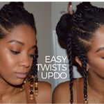 Twists & Beads- Natural Hairstyle