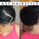 4 Quick & Easy Natural Hairstyles & Hair Oil UPDATE!! [Video]
