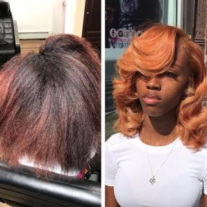 Gorgeous transformation by @theglamexperienceinc