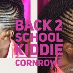 Best Small Cornrows Added Hair 2017