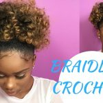 Braidless Crochet High Puff With Jamaican Bounce Hair [Video]