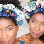 DIY Chic Flower Crown Headband – No Sew