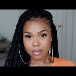 EASY FAUX LOCS TUTORIAL | Protective Style [Video]