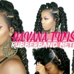 EASY JUMBO HAVANA TWISTS RUBBER BAND METHOD + STYLING ON NATURAL HAIR | BEGINNER FRIENDLY [Video]