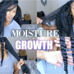 EXTREME Moisture + Growth Routine on Natural Hair (Updated) [Video]