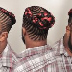 Feed-In Braided MAN BUN STYLE DEMO [Video]