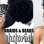 HOW TO: AFRICAN FULANI-INSPIRED BRAIDS AND BEADS TUTORIAL GRWM [Video]