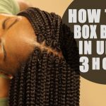 How to Crochet Box Braids On Yourself Tutorial: LOOKS REAL! FAST! [Video]