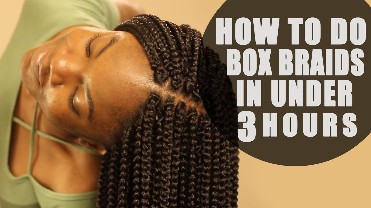 How To Crochet Box Braids On Yourself Tutorial Looks Real