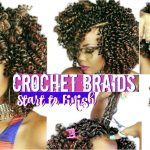 HOW TO | CROCHET BRAIDS FOR HEALTHY 4C #NATURALHAIR | START TO FINISH CROCHET BRAIDS [Video]