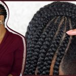 "How To DIY Feed in Braids on 4c Natural Hair | Easy Method & Detailed ""Lemonade Braids"" Tutorial [Video]"