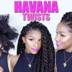 How-to: Havana Twists on Natural Hair | Jumbo Marley Twists [Video]
