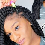 HOW TO INSTALL WAIST LENGTH CROCHET BRAIDS IN UNDER 1 HOUR (JUMBO TWIST) [Video]