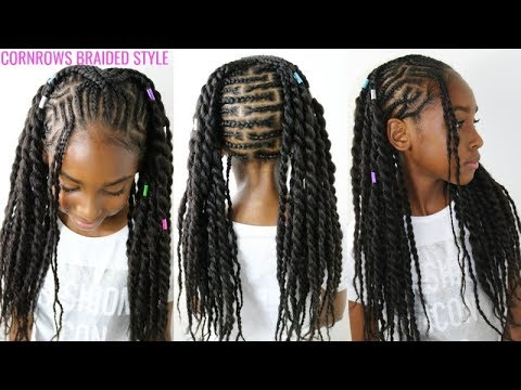 Magnificent Kids Natural Hair Styles Cornrows Braided Style Back To School Schematic Wiring Diagrams Phreekkolirunnerswayorg