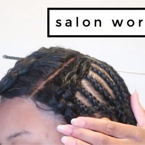 Lace Closure Sew-In #SALONWORK [Video]