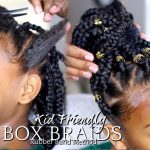 "How To: Box Braids ""Rubber Band Method"" Kids Hairstyle [Video]"