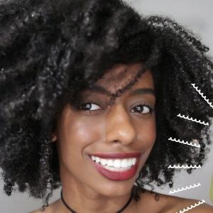 Natural Hair Wash and Go with Eco Styler Black Castor and Flexseed Gel | Type 4 Kinky Coarse Hair [Video]