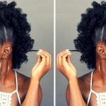 Natural Hairstyle | Fluffy Pony FROHAWK [Video]