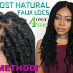 THE MOST NATURAL CROCHET LOCS INSTALL EVER! KNOTLESS METHOD – NO CORNROWS | FAST FAUX LOCS [Video]