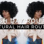 Wash Day Routine WASH to STYLE + DIY Hair Mask for HAIR GROWTH! [Video]